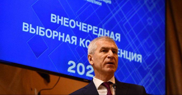 Олег Матыцин поздравил Евгения Юрченко с избранием на пост президента ВФЛА