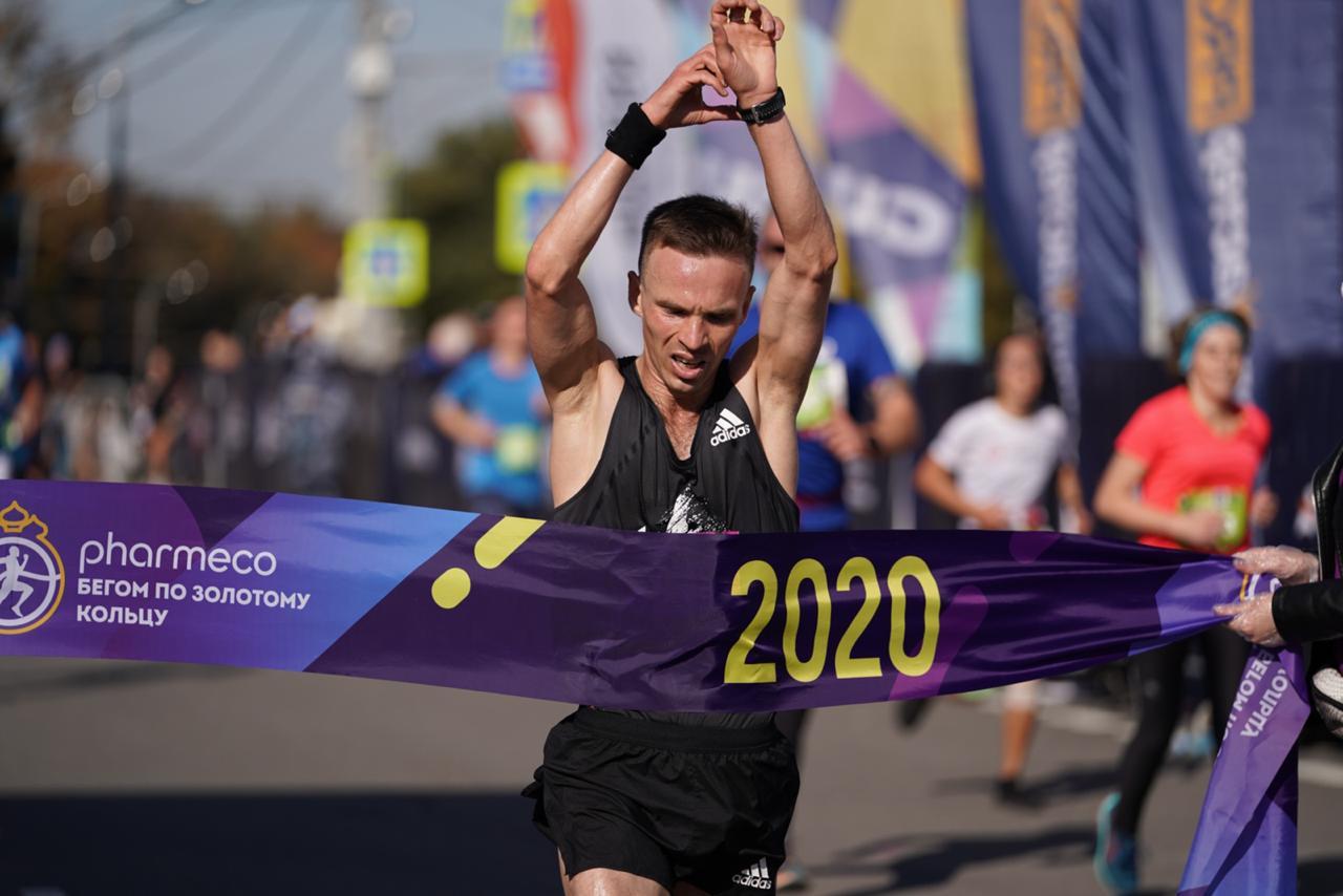Легкоатлет Никитин побил рекорд чемпионатов России в полумарафоне