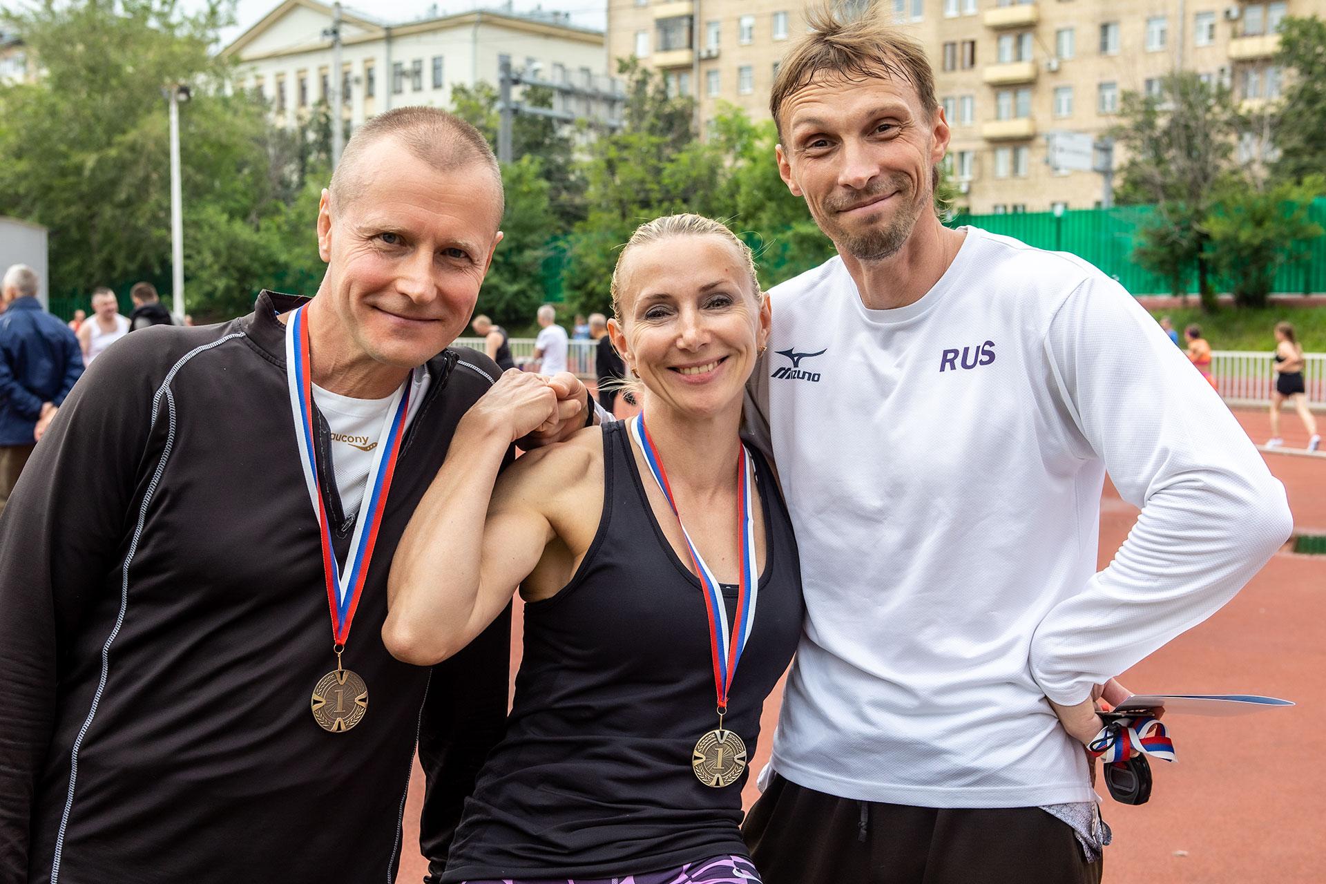 Чемпионат Москвы среди атлетов старше 35